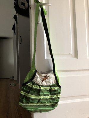 Grüne handgemachte Tasche