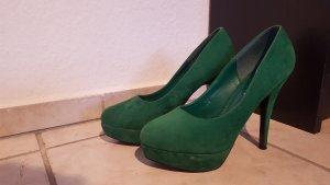 Grüne High Heels Gr. 38, 12cm neuwertig