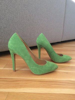 Grüne High Heels von Zara