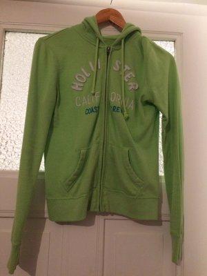 Grüne Hollister Jacke