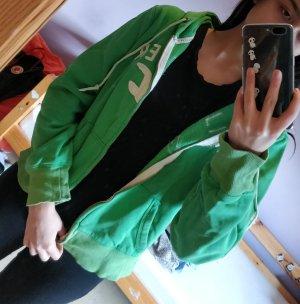Hollister Sweatjack wit-groen