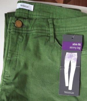 Grüne Hose C&A Größe 40 Ungetragen