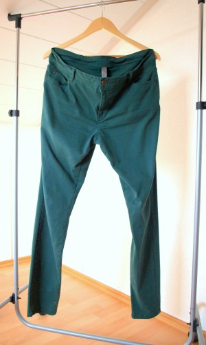 Pantalone elasticizzato verde bosco