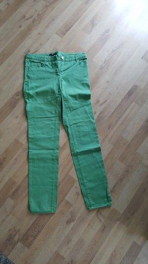 Grüne Hose mit geradem Bein von H&M
