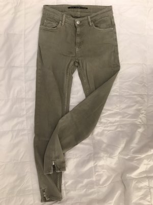 Zara 3/4 Length Trousers multicolored