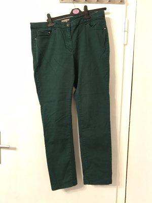 Grüne Hose mit schmalem Bein von H&M in Gr. 46