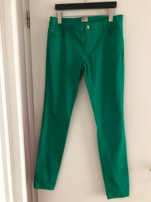 Only Low-Rise Trousers green