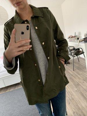 Grüne Jacke
