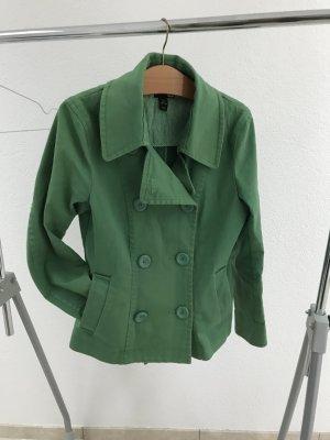 H&M Vareuse vert coton