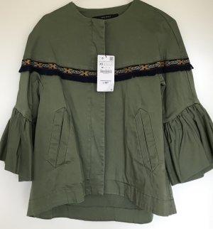 Gruene Jacke von Zara
