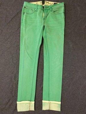 Grüne Jeans Hose von One Green Elephant