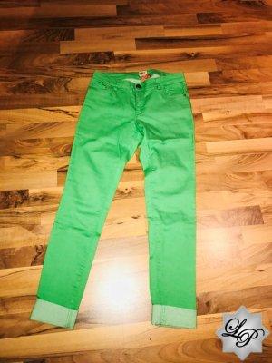 Grüne Jeans - leichter Stretch