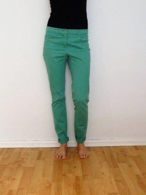 Grüne Jeans mid-waist slim