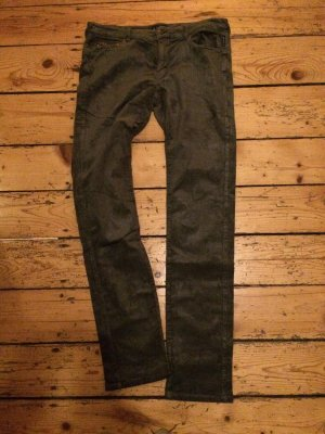 Armani Jeans Corduroy Trousers dark green