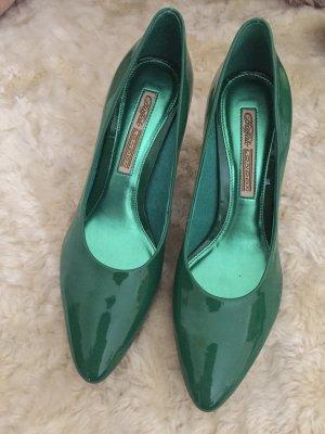 Grüne Lackpumps - Stilettos NEU!