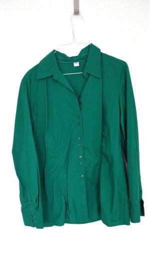 Grüne Langarmbluse von S. Oliver