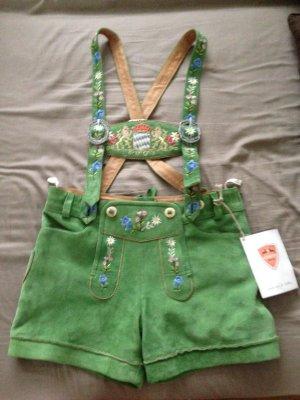 Grüne Lederhose Größe 38
