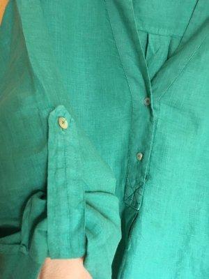 Nadine H. Blusa de lino verde