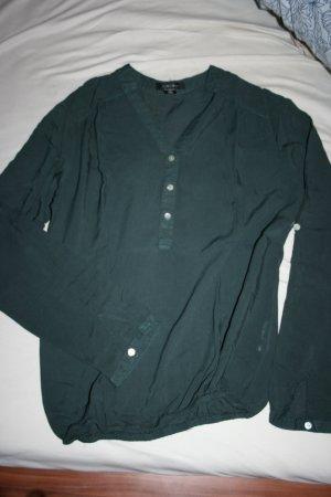 grüne lockere Bluse XS
