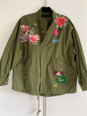 Zara Military Jacket multicolored