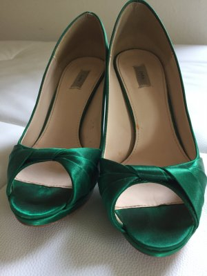 Grüne Peeptoes von Zara