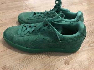Grüne Puma sneakers
