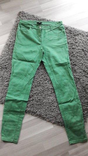 grüne Röhrenhose von H&m