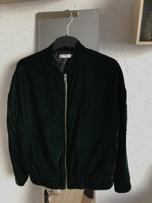 Mango Bomber Jacket forest green-dark green