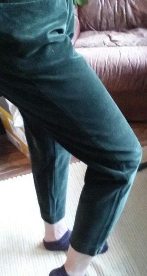 Kejzar's Cotton Line Pantalon 7/8 vert-vert foncé