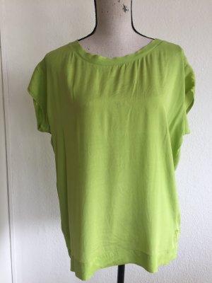 Grüne Seidenbluse von Witty Knitters