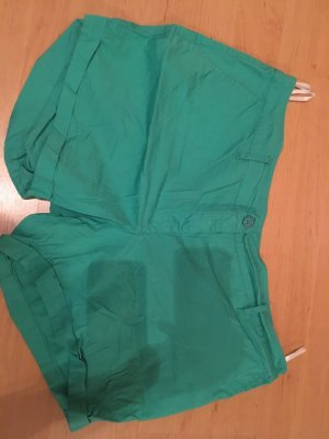 b.p.c. Bonprix Collection Hot pants verde-verde prato
