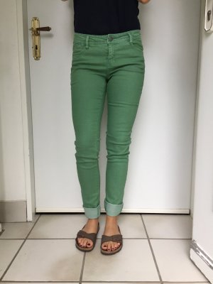 Grüne Skinny Jeans