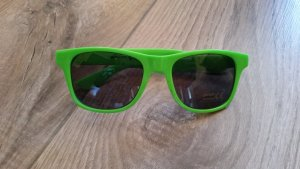 Glasses neon green