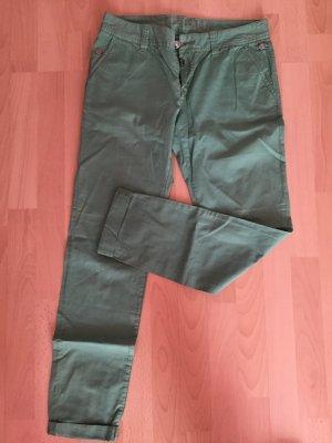 grüne Stoffhose