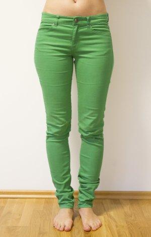 grüne stretch Hose von H&M