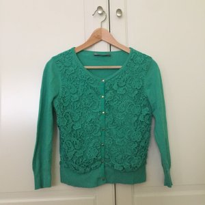 Hallhuber Cardigan green-gold-colored