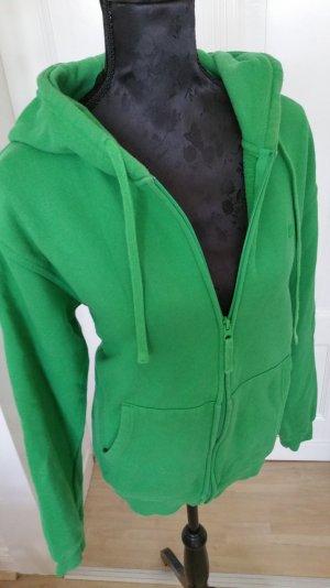 Grüne Sweatshirtjacke von Rules