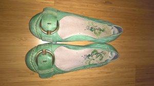 Grüne Tamaris-Ballerinas, Gr.38
