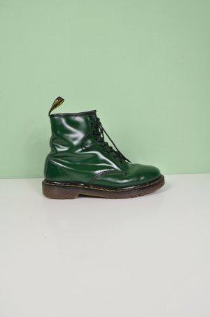 Grüne / Tannengrüne Doc Martens Schnürer / Boots