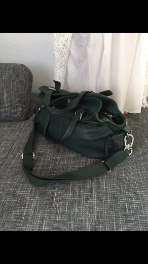 Grüne Tasche aus Leder von mer du Sud