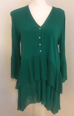 Grüne Tunika Bluse von zara