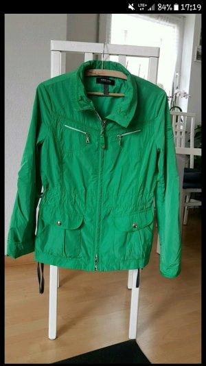 grüne Übergangsjacke 36