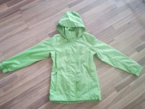 Impermeabile verde chiaro Tessuto misto