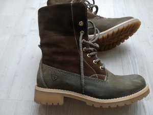 Tamaris Snow Boots multicolored leather
