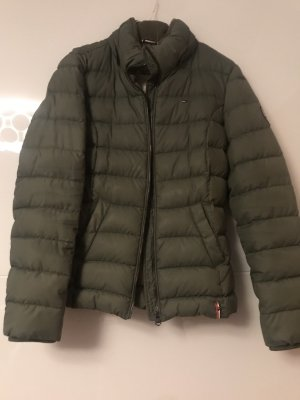 Tommy Hilfiger Down Jacket green grey