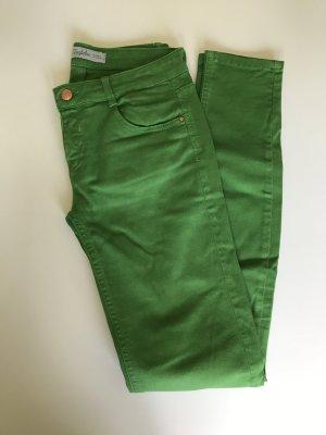 Grüne Zara Jeans Größe 34