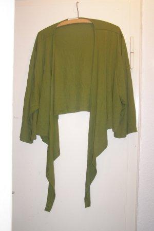 grüne Zipfeljacke 50 52 54 56