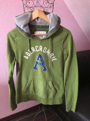 Grüner Abercrombie Kapuzenpullover