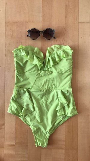 Grüner Badeanzug von H&M