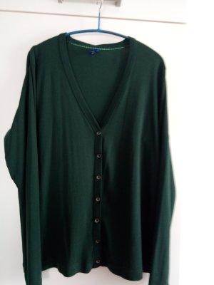 Grüner Baumwoll-Cardigan von Cecil Gr.L